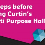 Curtin's Multi Purpose Hall usage